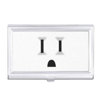 Mercado eléctrico divertido (ningún esquema) caja de tarjetas de presentación