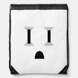 Mercado eléctrico divertido (ningún esquema) mochilas