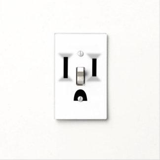 Mercado eléctrico divertido (ningún esquema) placas para interruptor