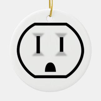 Mercado eléctrico divertido ornamentos de reyes