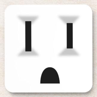 Mercado eléctrico divertido posavaso