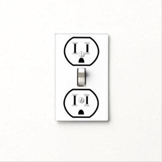Mercado eléctrico divertido tapas para interruptores