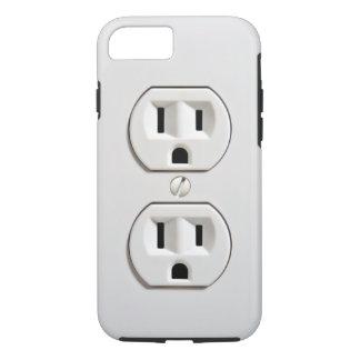 Mercado eléctrico falso divertido funda iPhone 7