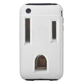 Mercado eléctrico fresco tough iPhone 3 carcasa