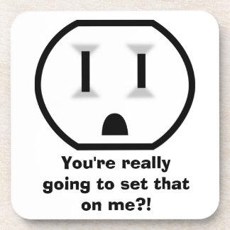 Mercado eléctrico (usted está fijando eso en mí?!) posavasos