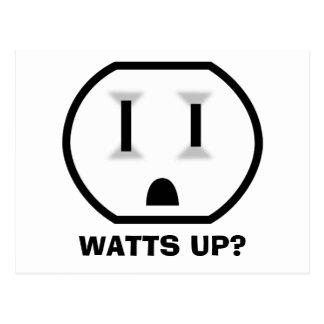 Mercado eléctrico (vatios para arriba?) postal