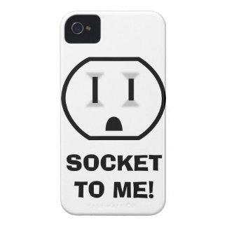 Mercado eléctrico (zócalo a mí) iPhone 4 Case-Mate cobertura