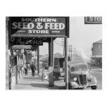 Mercado francés de New Orleans: 1935 Postales