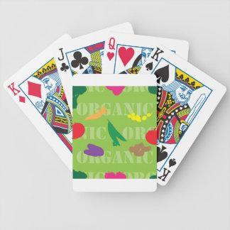 Mercado inconsútil cartas de juego