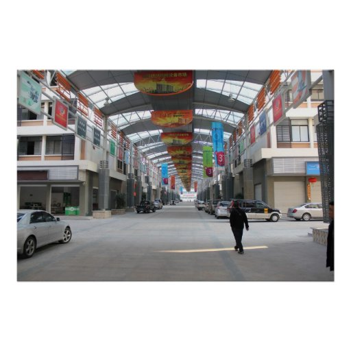 Mercado internacional de la materia textil - JinJi Posters