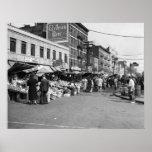Mercado italiano de la carretilla de mano, Bronx:  Póster