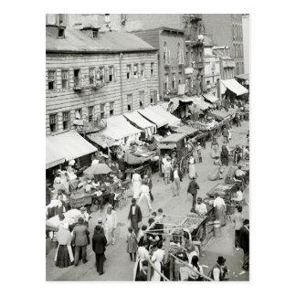 Mercado judío 1890s tarjetas postales