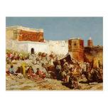 Mercado libre de señor Weeks- de Edwin, Marruecos Tarjetas Postales