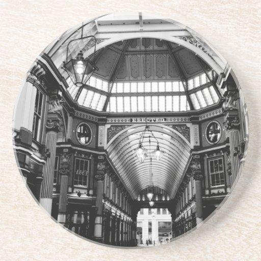 Mercado Londres de Leadenhall Posavasos Manualidades