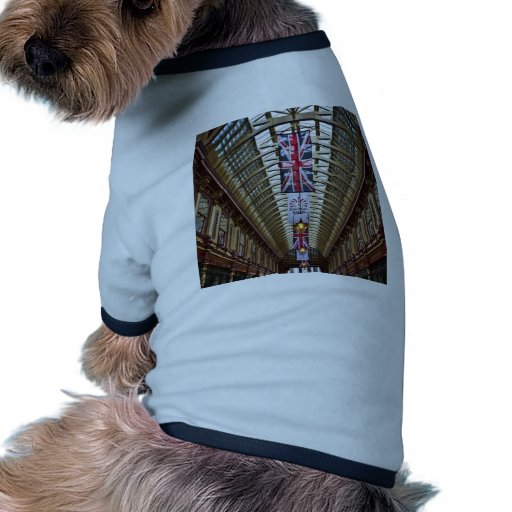 Mercado Londres de Leadenhall Camiseta Con Mangas Para Perro