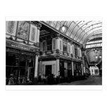 Mercado Londres de Leadenhall Tarjeta Postal