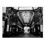 Mercado Londres de Leadenhall Tarjetas Postales