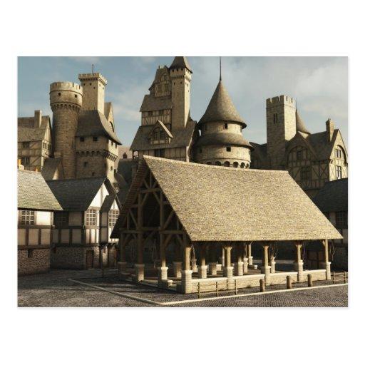 Mercado medieval postal