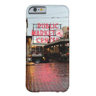 Mercado público de Seattle Funda De iPhone 6 Slim