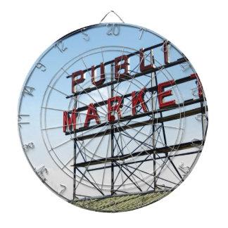 Mercado público tabla dardos
