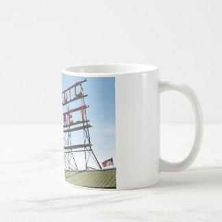 Mercado público tazas de café