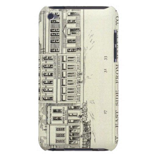 Mercado y misión de la zona este de Steuart iPod Case-Mate Funda