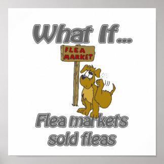 mercados de pulgas póster