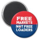 Mercados libres - no Freeloaders Imanes De Nevera