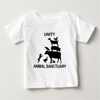 Mercancía animal del santuario de la unidad playera de bebé