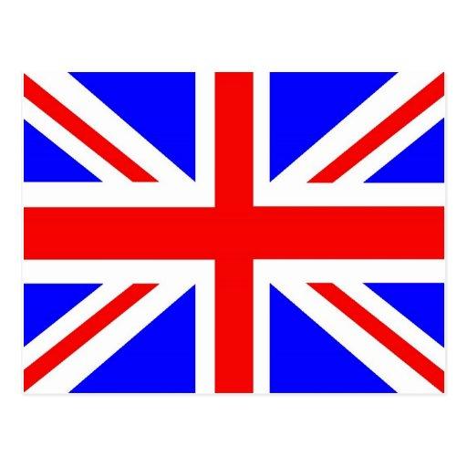 Mercancía británica de la bandera tarjeta postal