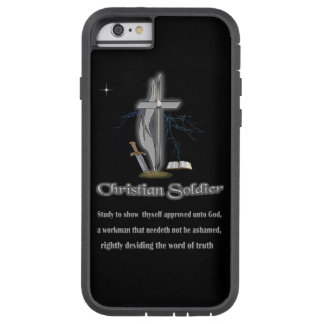 Mercancía cristiana del soldado funda para  iPhone 6 tough xtreme