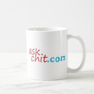 mercancía de Askchit.com Taza De Café