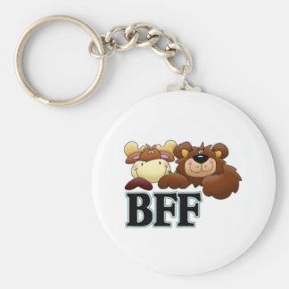 Mercancía de BFF Llaveros Personalizados
