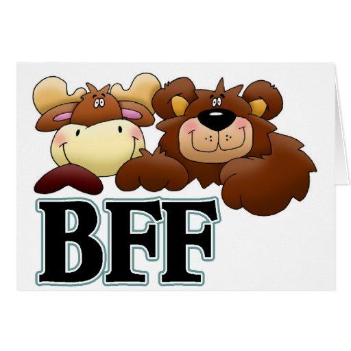 Mercancía de BFF Tarjeta De Felicitación