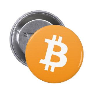 Mercancía de Bitcoin Pin Redondo 5 Cm