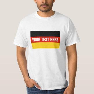 Mercancía de encargo alemana de las camisetas el |