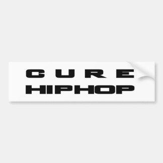 Mercancía de HIP HOP de la CURACIÓN Pegatina Para Auto