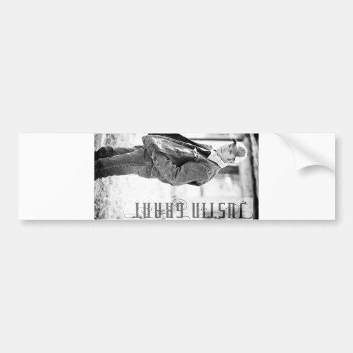 Mercancía de Justin Grant Pegatina Para Auto
