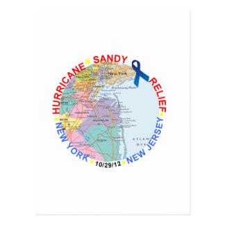 Mercancía de la ayuda del huracán postales