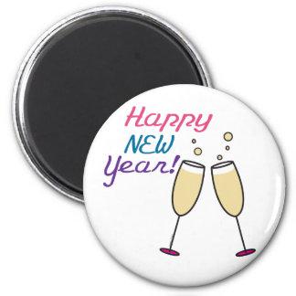 Mercancía de la Feliz Año Nuevo Iman Para Frigorífico
