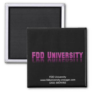 Mercancía de la universidad de FDD Imán De Frigorifico