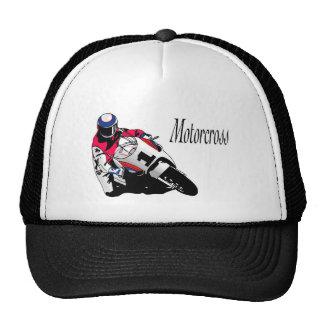 mercancía de los motorcross gorros