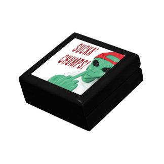Mercancía de los zoquetes de Sucka Caja De Joyas