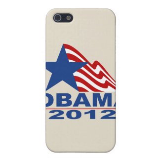 Mercancía de Obama 2012 iPhone 5 Fundas