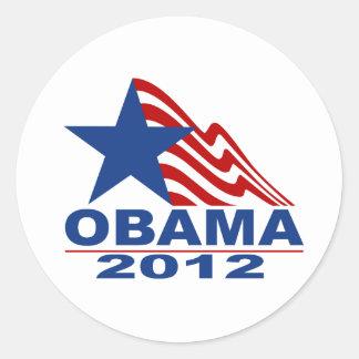Mercancía de Obama 2012 Pegatinas Redondas