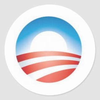 Mercancía de Obama Pegatina Redonda