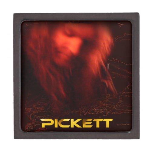 Mercancía de Pickett Cajas De Recuerdo De Calidad