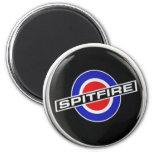 Mercancía de radio del Spitfire Imán Redondo 5 Cm