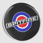 Mercancía de radio del Spitfire Pegatina Redonda