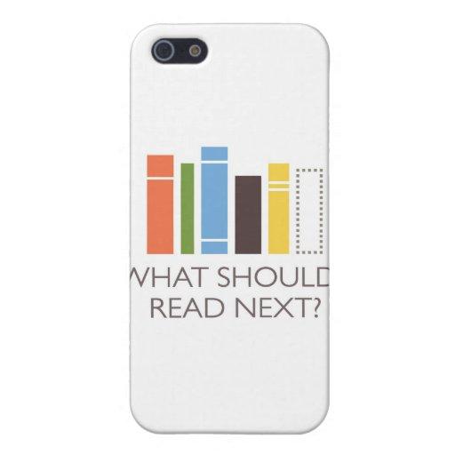 mercancía de WhatShouldIReadNext.com iPhone 5 Cárcasas